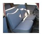Mercedessitze und Türverkleidung